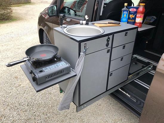 Reisemobil mit Kochfunktion in  Saarland