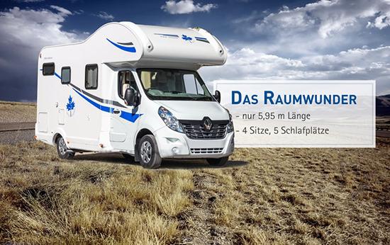 Reisemobil mit Schlafplatz aus  Saarland