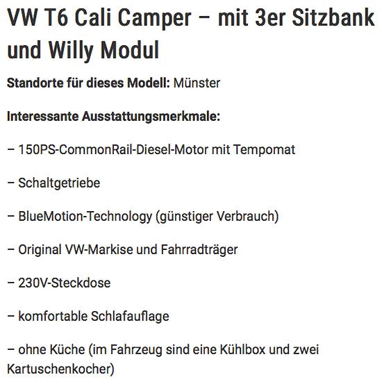 Wohnmobile mieten in Deutschland aus  Hamburg